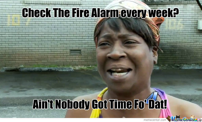 Fire Alarms?