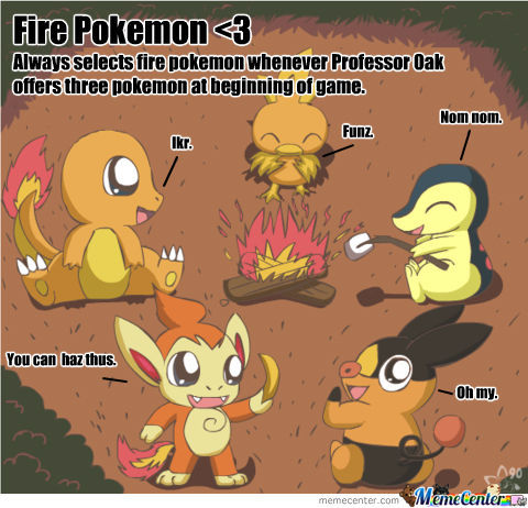 Fire Pokemon <3