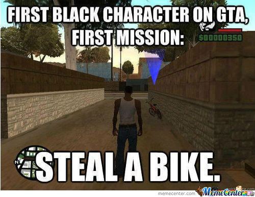 First Black Character In Gta