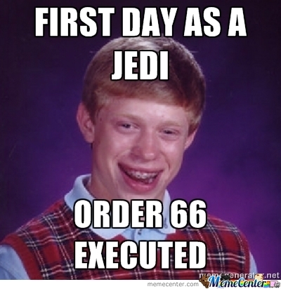 First Day As A Jedi......