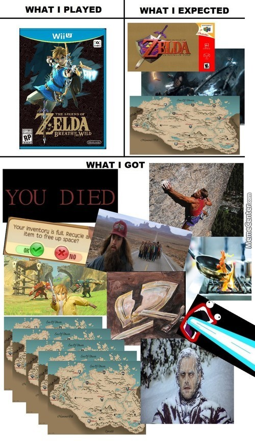 First Few Hours In Breath Of The Wild