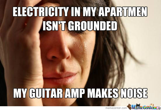 First Guitarist Problems