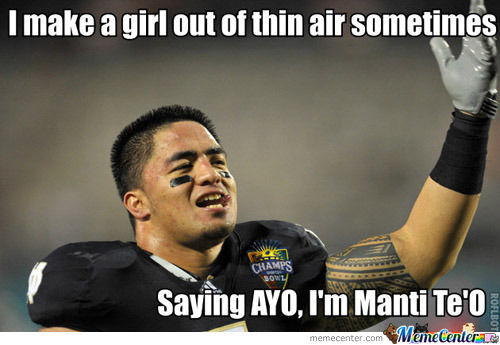 First Manti Te'o One Here