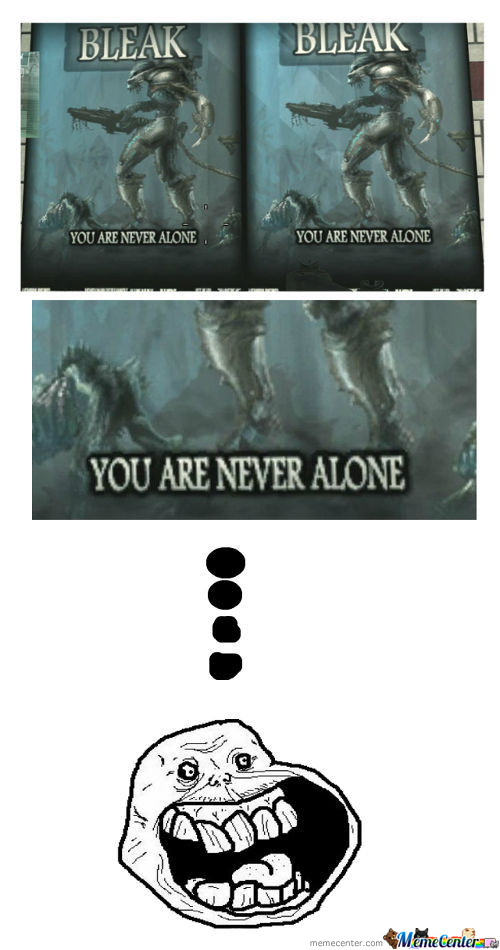 First Meme.. Happy Forever Alone