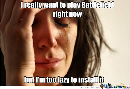 First Pc Gamers Problems