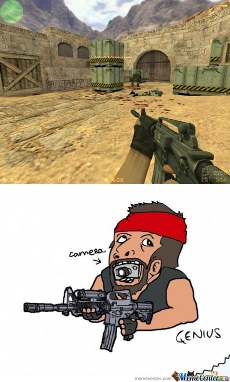 First Person Shooter Genious