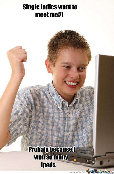 First Time Internet Kid