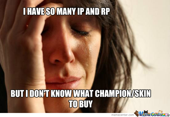 First World League Problems
