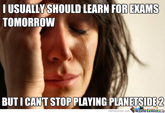 First World Problem: Gaming Students