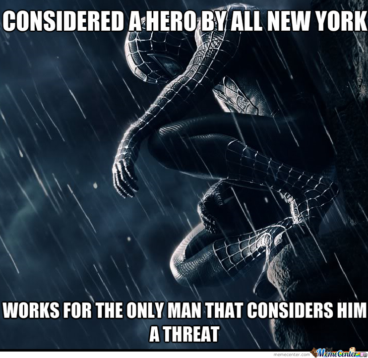 First World Spidey Problems