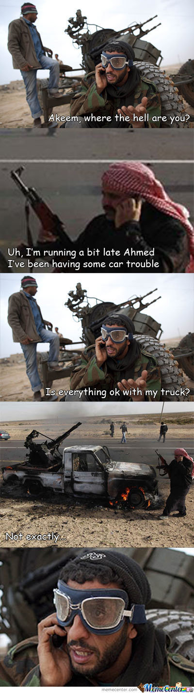 First World Terrorist Problems