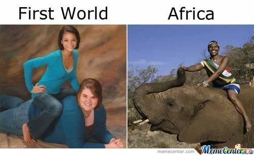 First World Vs Africa