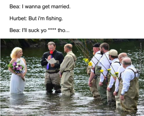 *fish Eats Wedding Ring