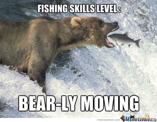 Fishing Like A Bear