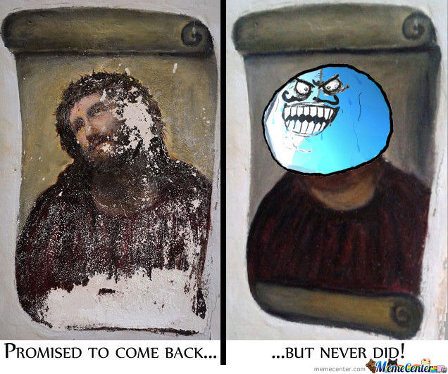 Fixthefresco Jesus Lied!
