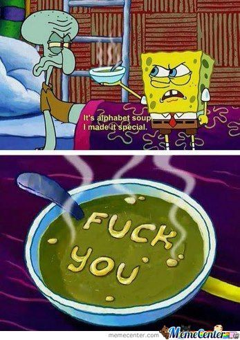 Fk U Squidward