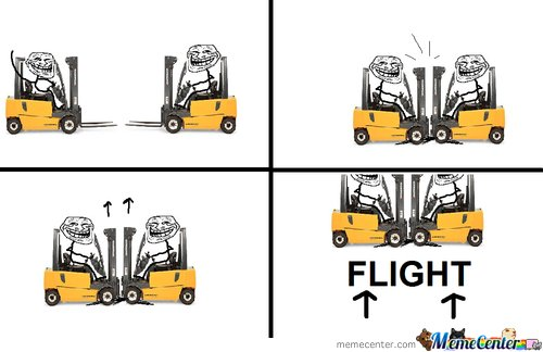 Troll Science: Flight