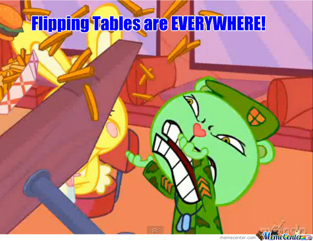 Flipping Table Level: Htf
