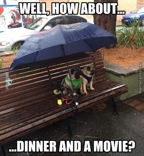 Flirting In The Rain