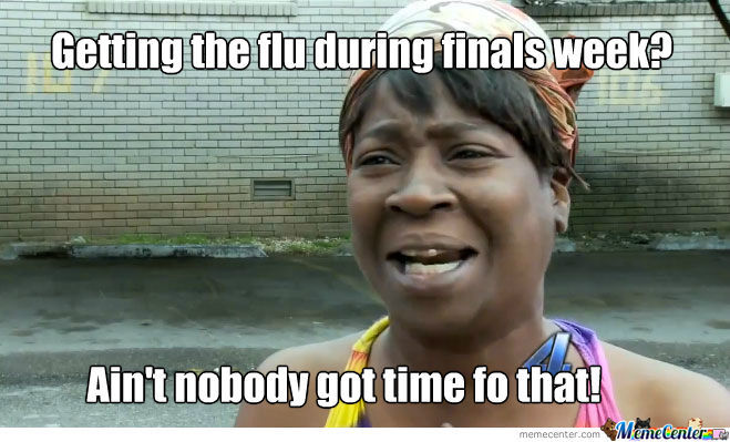 Flu And Finals