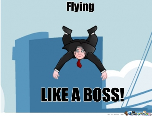 flying boss