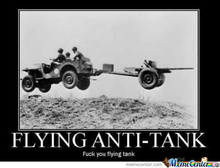 Flying Tanks Fixed, Sir!