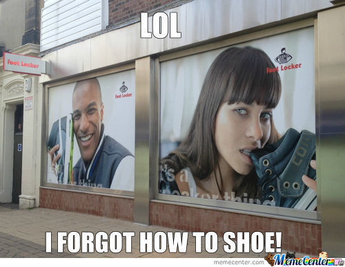 Footlocker's Ads Forgot How To Shoe.