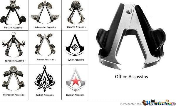 For All Of You Assassins Out There