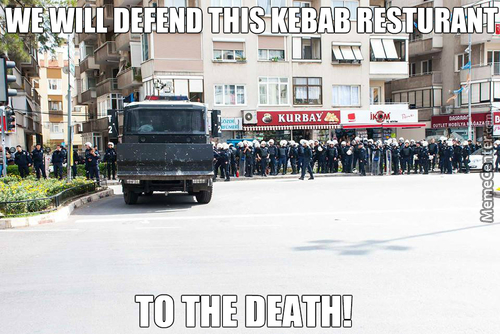 For The Glory Of Kebab!