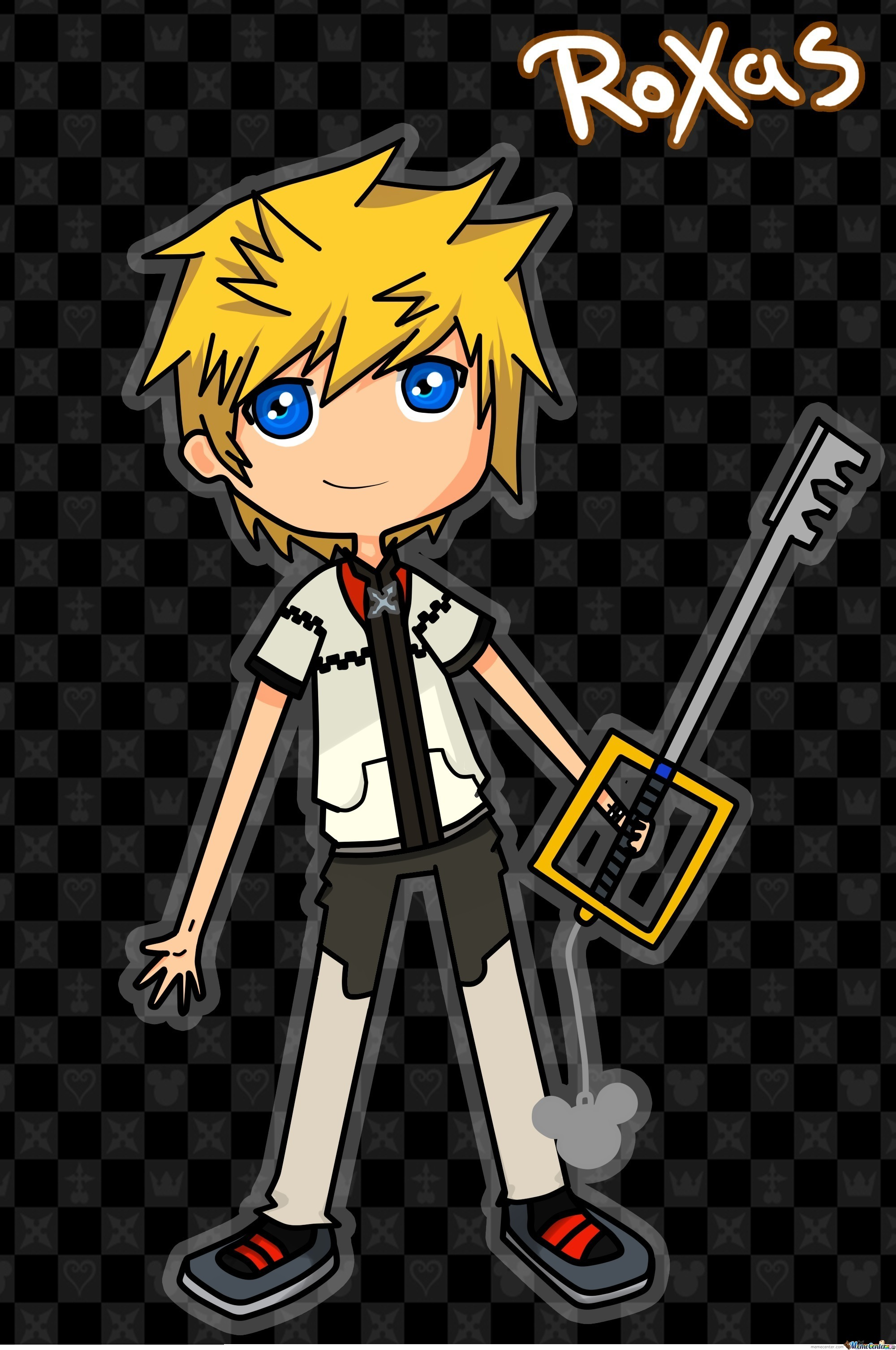 For The Guy Who Asked Me To Draw Roxas Lol