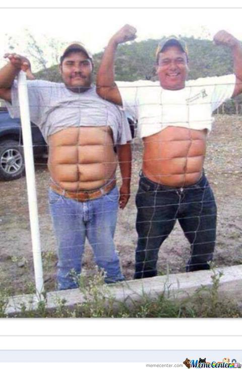 For The Ladies, Men With 8 Packs