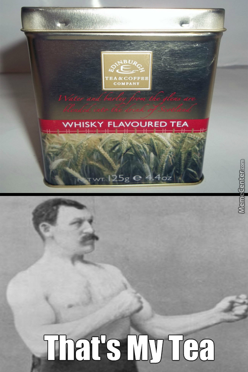 For The Overly Manly British Alcoholic Gentleman