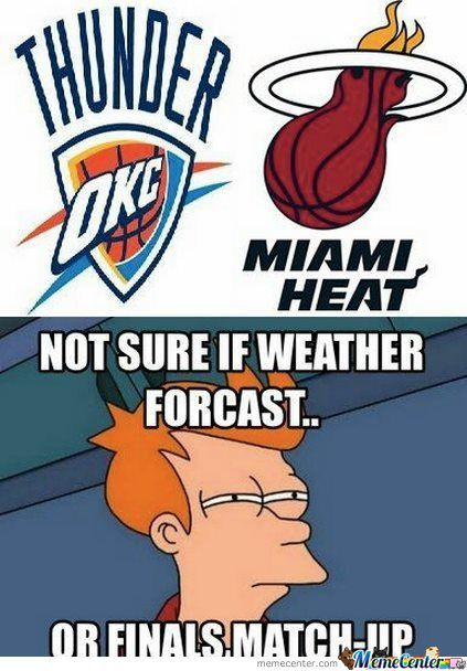 Forecast Or Match Up?