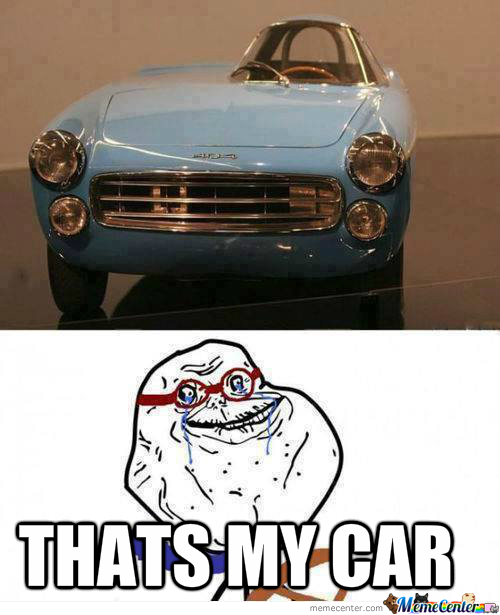 Forever Alone Car