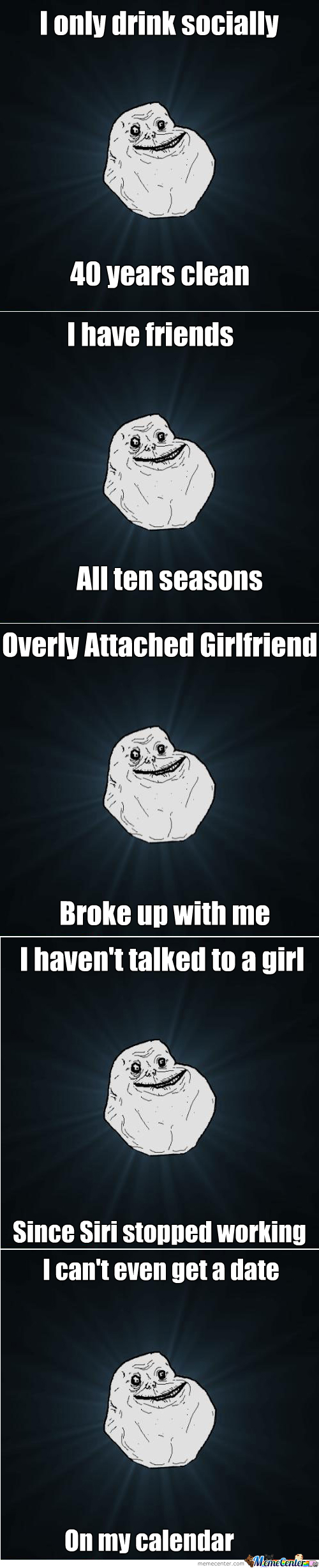 Forever Alone Compilation