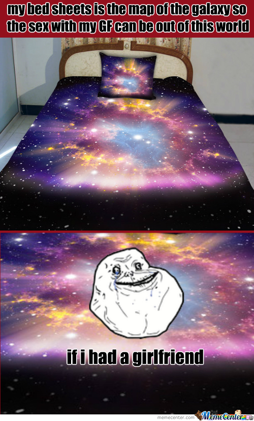 Forever Alone Galaxy Sheets