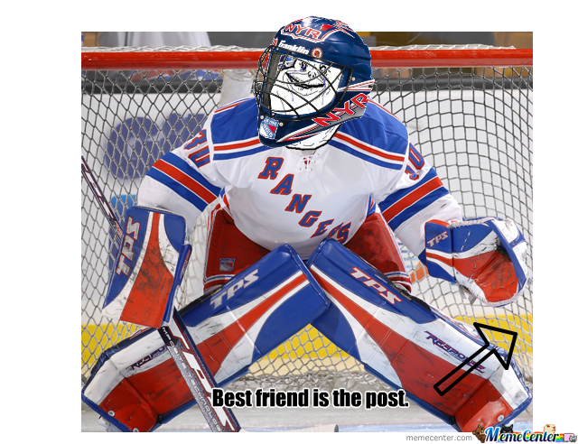 Forever Alone Goalie.