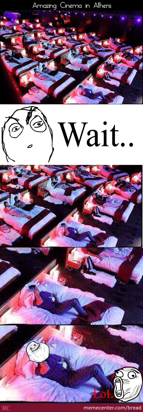 Forever Alone Guy In The Cinema