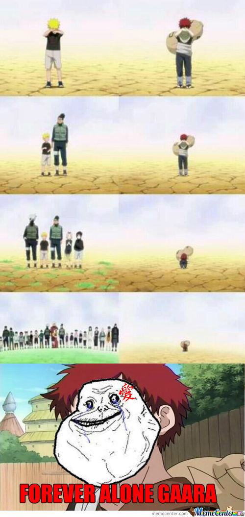 Forever Alone Level: Gaara