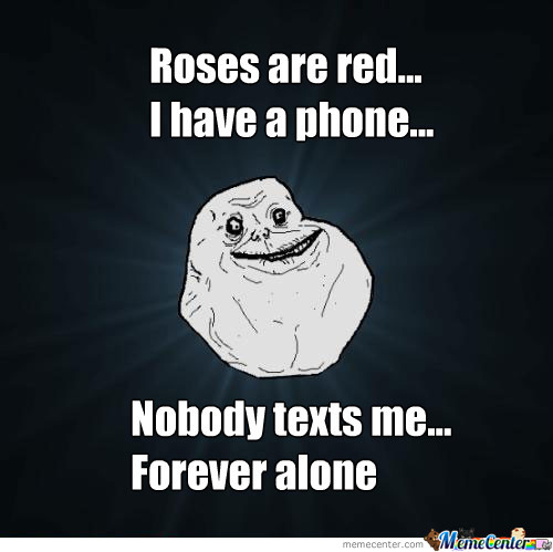 love forever alone