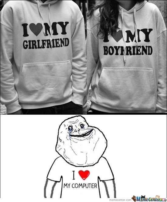 Forever Alone Lvl : Lover.