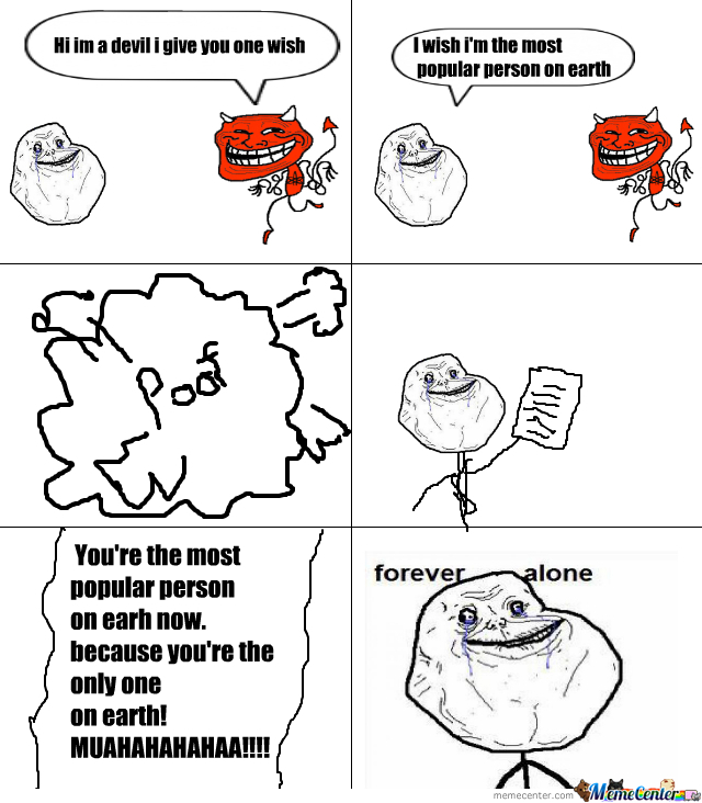 Forever Alone On Earth