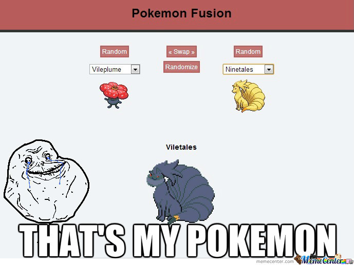 Forever Alone Pokemon
