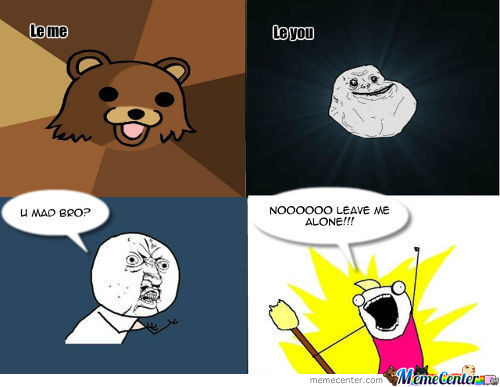 Forever Alone Rage