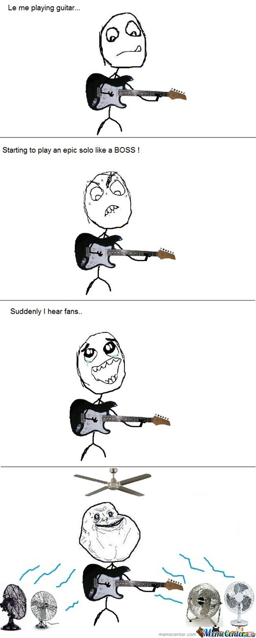 Forever Alone Rock Star.