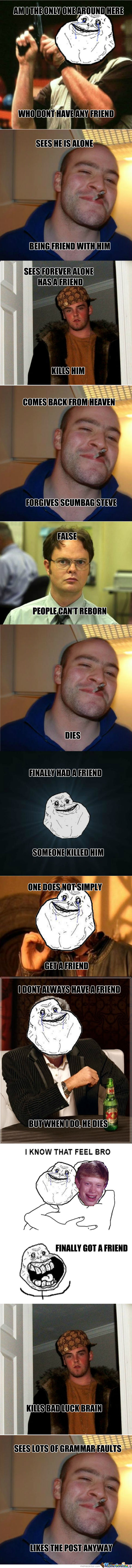 Forever Alone Strikes