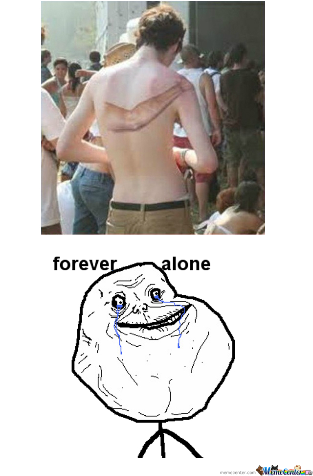 Forever Alone Tatto