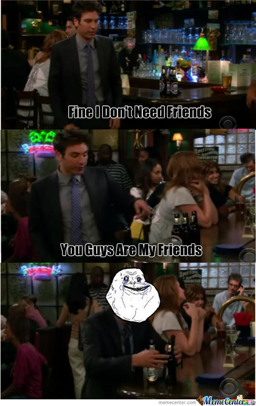 Forever Alone Ted