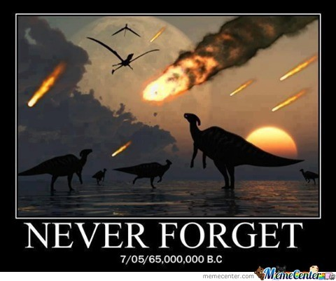 Forever In Our Hearts. The Dinocaust