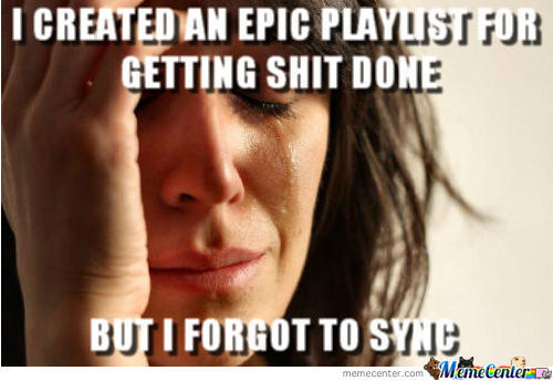 Forgot To Sync